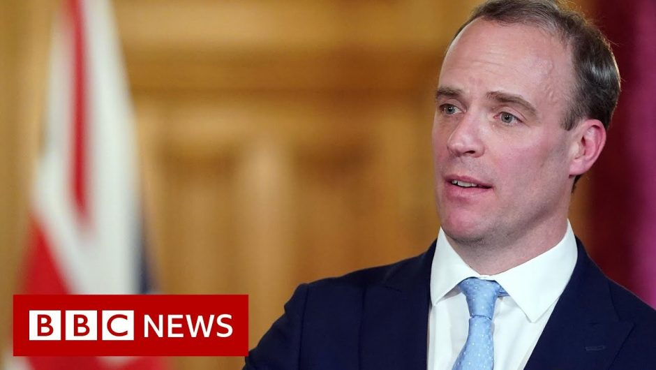 Coronavirus: Raab leads government's daily virus briefing – BBC News
