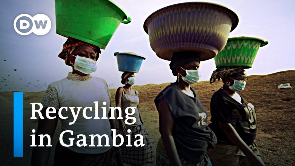 Gambia: The Queen of Recycling   Global Ideas