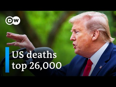 Coronavirus: Trump halts WHO funds amid falling poll numbers | DW News