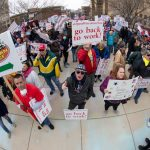 Thousands gather at Wisconsin state Capitol to protest coronavirus restrictions