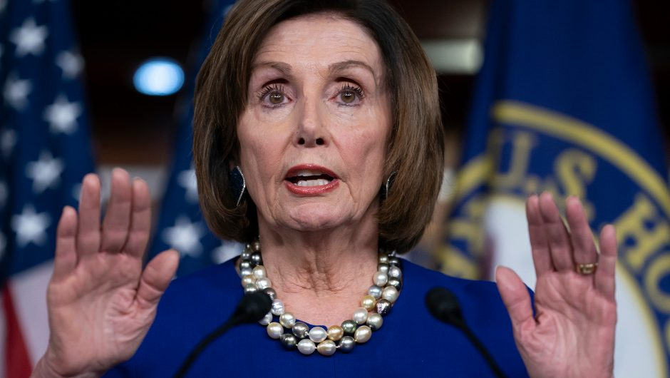 Pelosi admits delaying funds for coronavirus small business loans