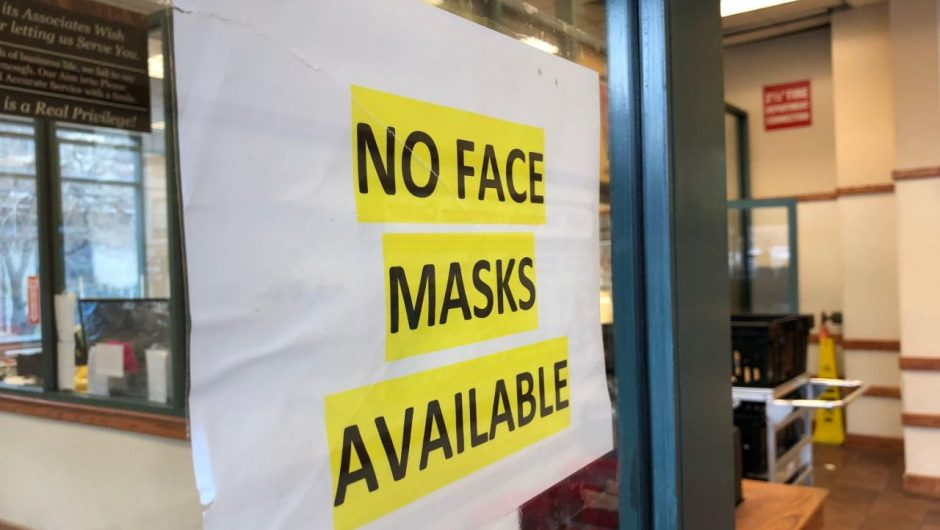The US needs masks to fight coronavirus, but supplies from China fell as demand rose
