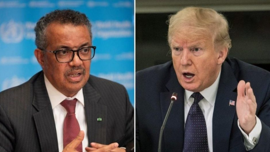 Trump gives WHO ultimatum over Covid-19 handling
