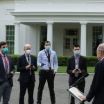 White House enacts new safety precautions as coronavirus moves closer to Trump's inner circle