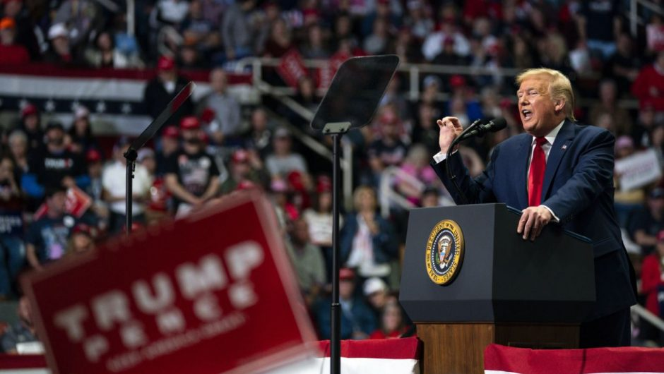 Trump's Tulsa rally will be held indoors despite Oklahoma's record spike in COVID-19 cases