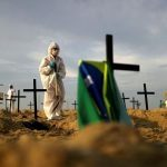 Brazil overtakes UK with world's second-highest Covid-19 death toll