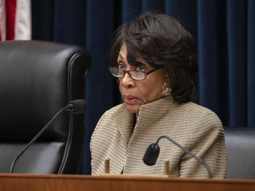 Trump cares more about taking down statues of racist Confederate generals and slaveholders than coronavirus death toll, Maxine Waters says