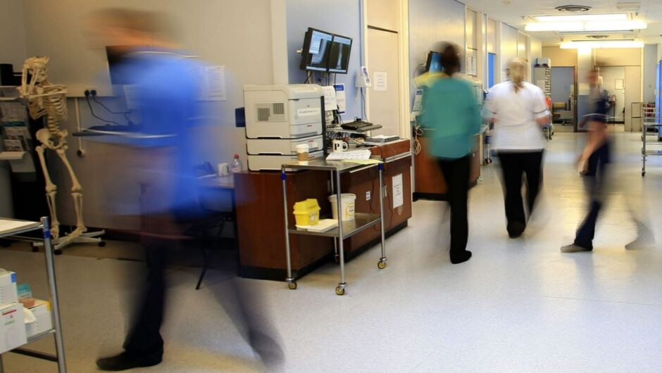 Up to nine in 10 infected nurses and doctors caught coronavirus in hospitals at peak of crisis