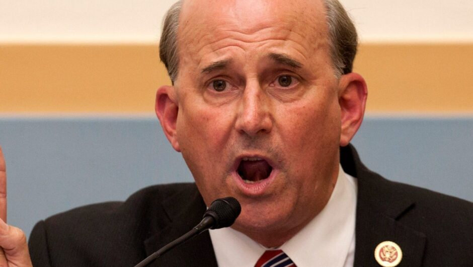 Rep. Louie Gohmert says he may have contracted the coronavirus because he wore a mask, despite the fact that he regularly refused to wear masks