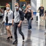 Travelers irked by inconsistent face mask use amid coronavirus pandemic