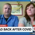 An Arizona man who was in a medically induced coma for 20 days because of the coronavirus woke up paralyzed