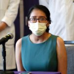 A 28-year-old coronavirus survivor said she woke up from a double lung transplant and didn't recognize her own body
