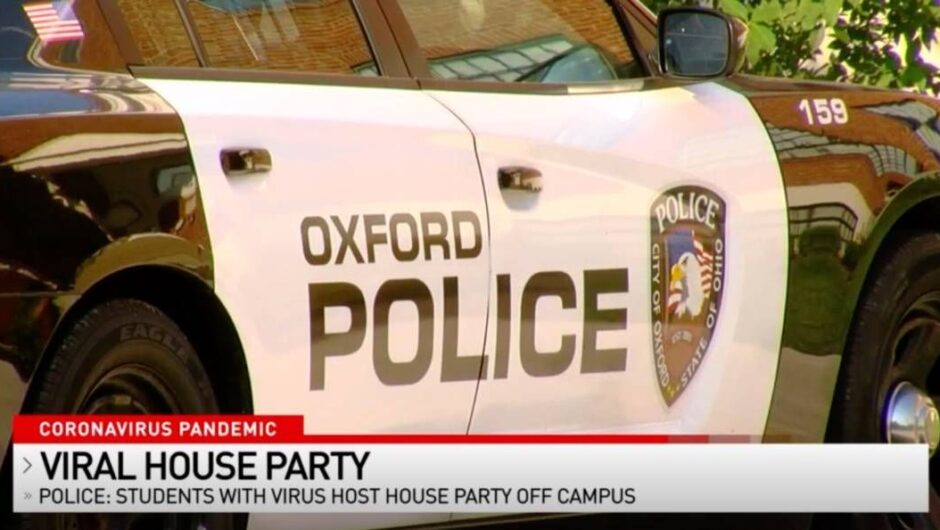 College student throws house party a week after positive COVID-19 test, Ohio cops say