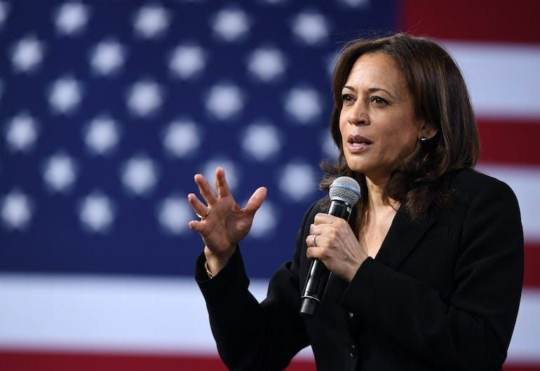 Kamala Harris says she 'would not trust Donald Trump' with a COVID-19 vaccine