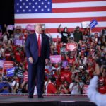 Trump boasts that Nevada's governor 'failed' to stop him from breaking COVID-19 rules to hold a rally indoors