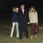 Barron Trump tested positive for COVID-19 earlier this month