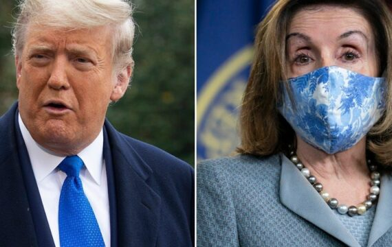 Trump keeps promising a coronavirus relief package will be passed after the election — but Democrats say they are still far apart on a stimulus deal