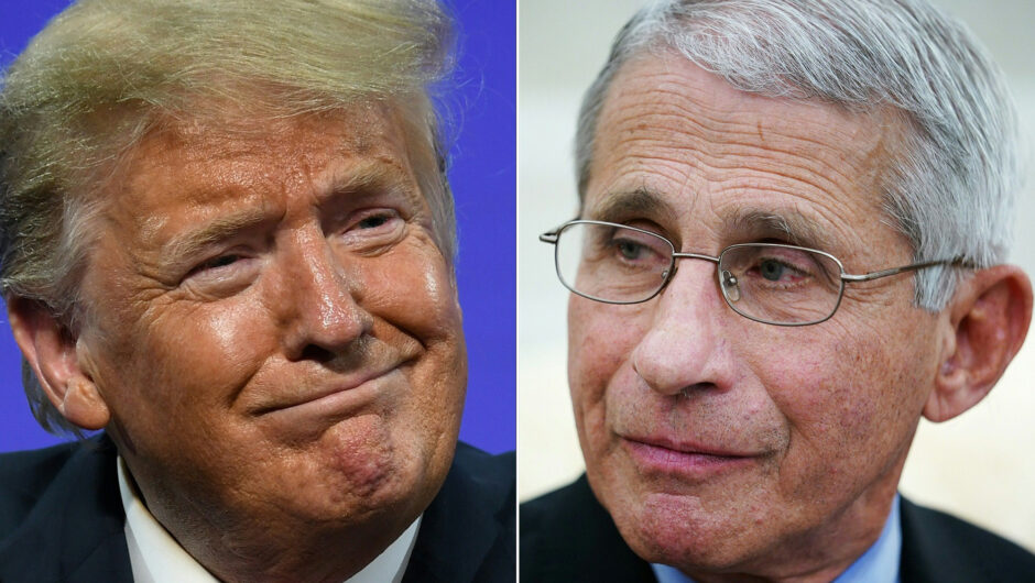 Trump piles on Fauci over first pitch and COVID-19 response