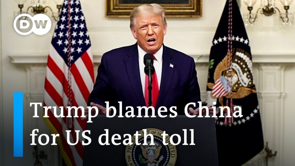 Trump lays blame on China as the US records more than 200.000 COVID deaths   DW News