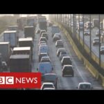 """Ban on sale of petrol and diesel cars by 2030 as UK announces """"green revolution"""" – BBC News"""
