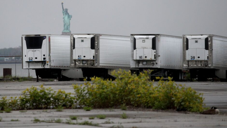 Bodies of hundreds who died during New York coronavirus surge are still being stored in freezer trucks