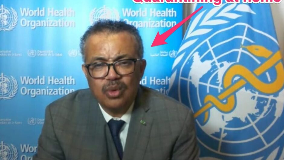 The head of the World Health Organization is in quarantine after a contact tested positive for COVID-19 — and he hasn't been tested yet