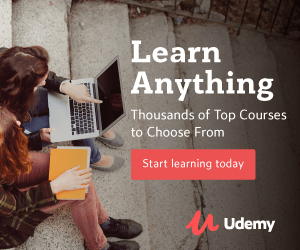 udemy courses at home