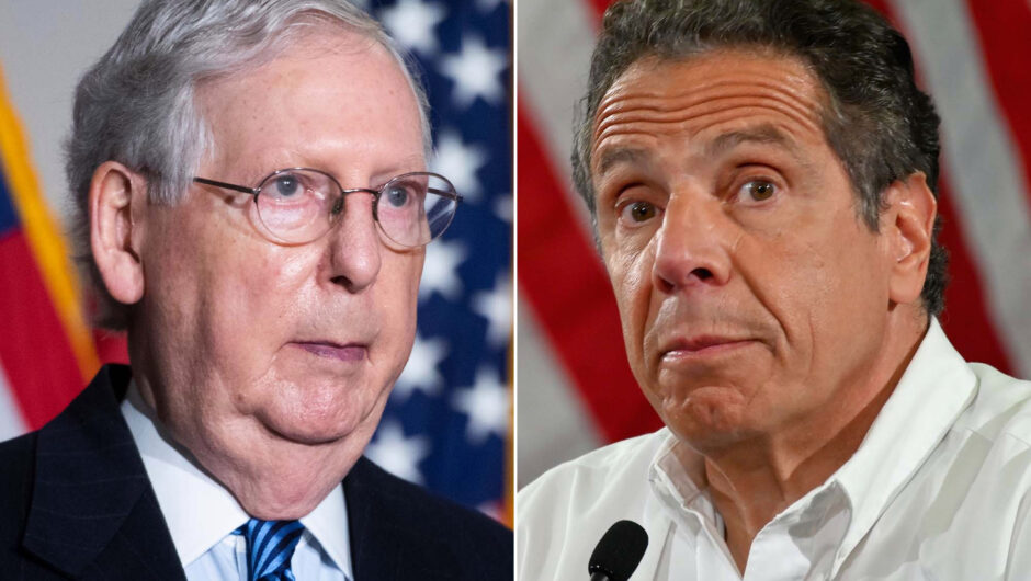McConnell rips Cuomo for 'opposing' Trump on COVID-19 vaccine