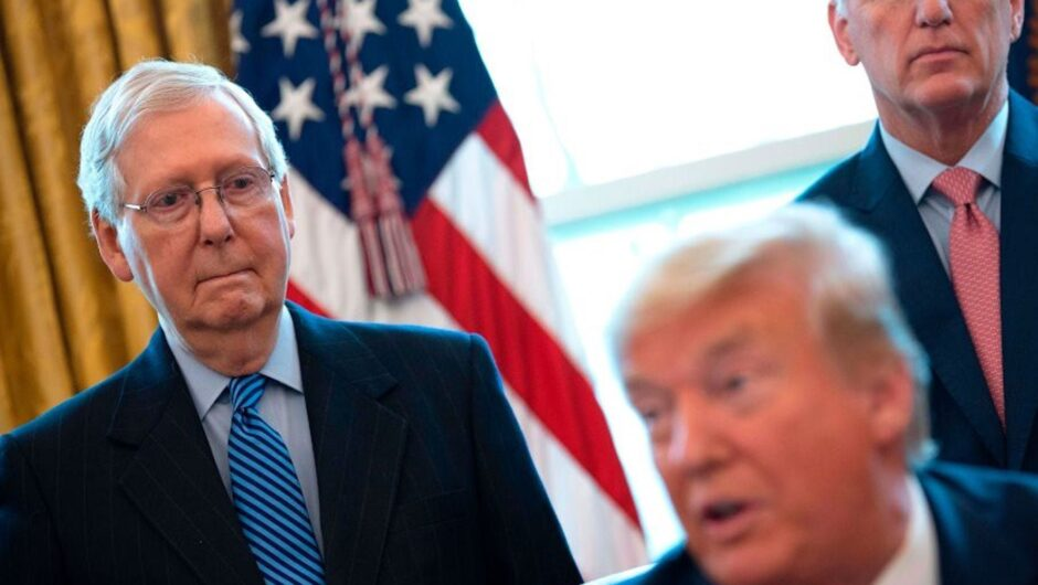 Trump threw away his leverage by signing the COVID-19 package with $600 checks and can now only watch as McConnell blocks $2,000 payments