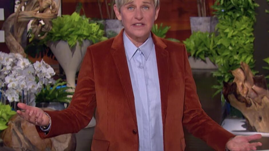 Ellen DeGeneres reveals she was surrounded by staffers when her assistant told her she tested positive for COVID-19