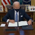 Biden signs orders giving economic relief to working families hit hard by COVID-19