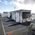 Dutch COVID-19 testing facility torched during ongoing riots
