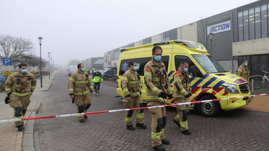 Explosion damages COVID-19 testing center in the Netherlands