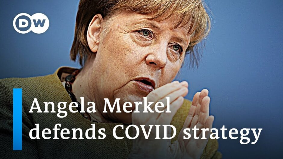 Angela Merkel lays out Germany's coronavirus strategy | DW News