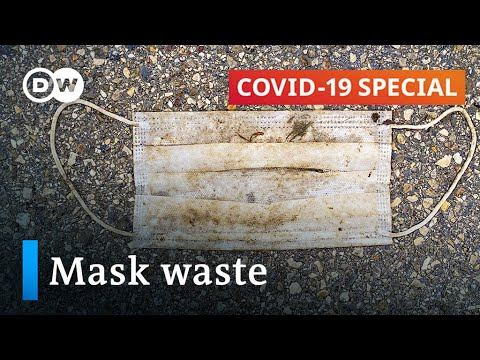 What to do about the plastic waste in face masks? | COVID-19 Special