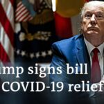Why did Trump take so long to sign the COVID-19 bill? | DW News