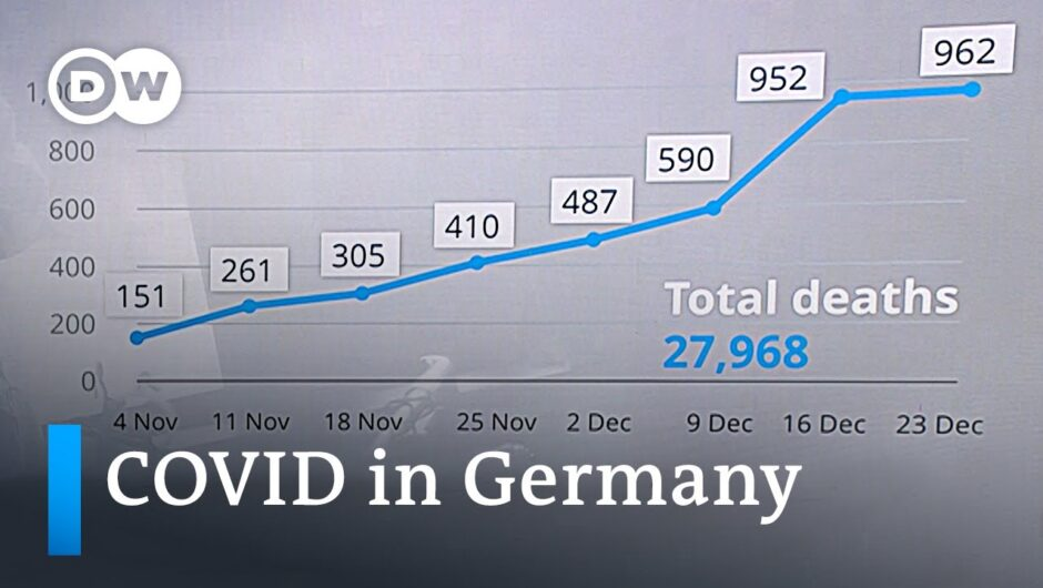Germany registers another record number of COVID-19 deaths | DW News
