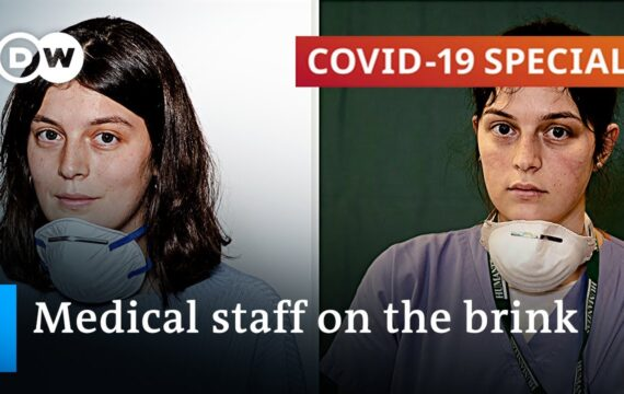 Frontline healthcare workers increasingly suffer from stress and exhaustion | COVID-19 Special