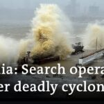 Cyclone Tauktae: Indian navy combs sea after barge sinks | DW News
