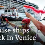 Activists in Venice protest return of giant cruise ships | DW News
