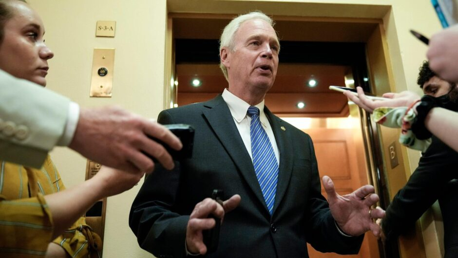 YouTube has blocked Senator Ron Johnson for 7 days after it removed a video of him spreading coronavirus treatment misinformation