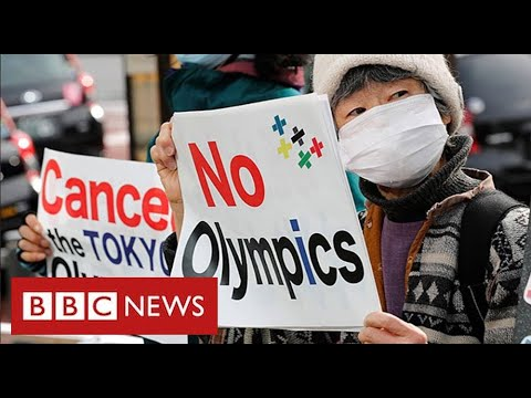 Protests against Tokyo Olympics as Japan suffers Covid surge – BBC News