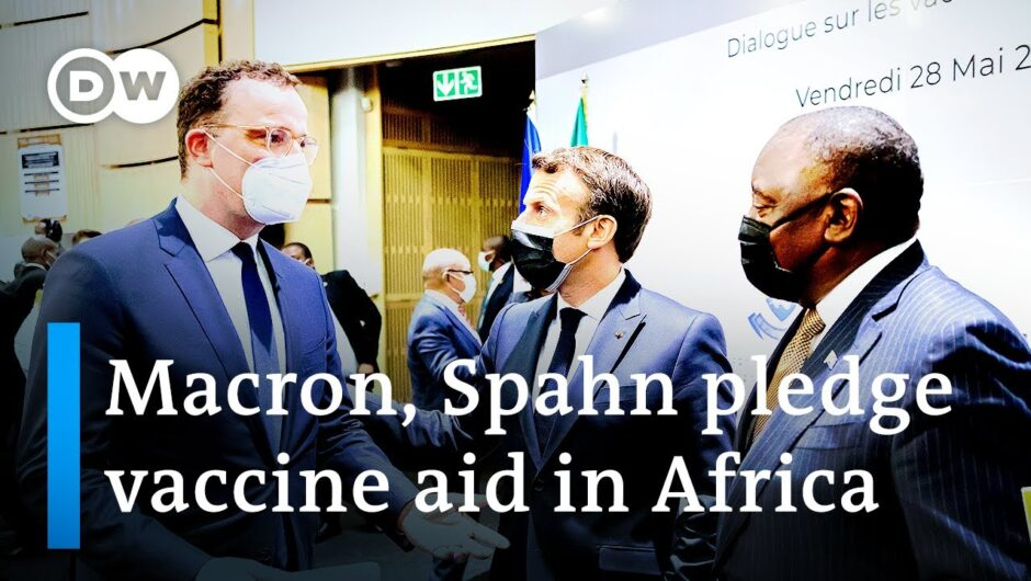 EU promises aid for COVID-19 vaccine production in Africa   DW News