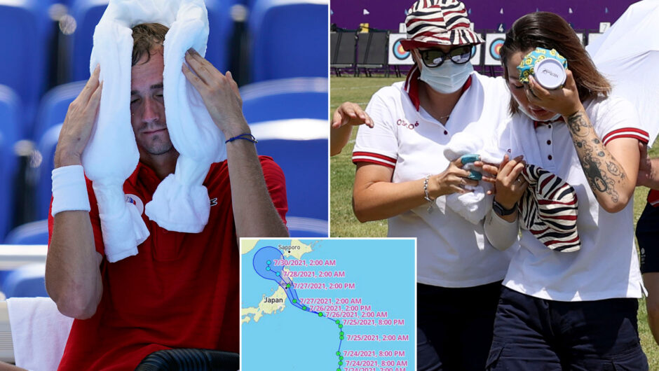 COVID-19 delays, heat and now a typhoon: 2020 Olympics go on